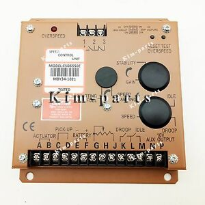 New Electronic Engine Speed Controller Esd5550e For Generator Genset Parts