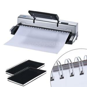 Dsb A4 21 Holes Paper Puncher Binder Punch Binding Machine Office Supply E0r0