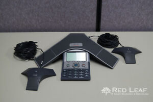 Cisco 7937g Cp 7937g Ip Conference Station W 2 Mics refurbished