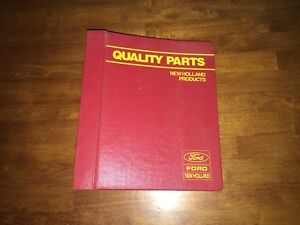Ford New Holland Tx36na Combine Supplement Parts Catalog Manual 5003610