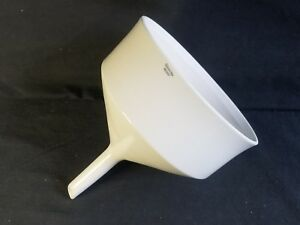 Coors Porcelain 1860ml Perforated Buchner Funnel Fits 185mm Paper 60247