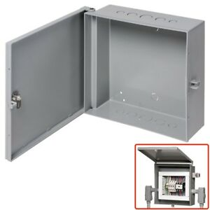 Arlington Outdoor Electric Cabinet Enclosure Box Heavy Duty Plastic 12 X 12