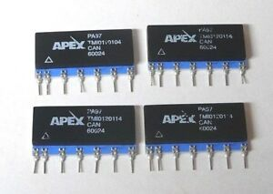 Apex Pa97 High Voltage Power Op amp 900v 10ma 600ua Quiescent Current Mosfet