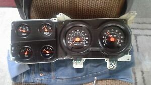 73 87 Used Chevy Truck Parts Dash Parts Gauge Cluster Working Oem