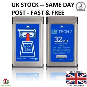 Gm 33 004 Gm Tech2 Tech 2 32mb Memory Cards Card Diagnostic Scanner Tis Software