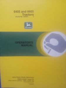 John Deere 6405 And 6605 Tractors Operator s Manual Omal153481 D1