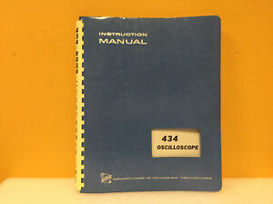 Tektronix 070 1131 00 434 Oscilloscope Instruction Manual