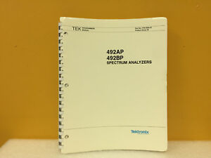Tektronix 070 5564 01 492ap 492 Bp Spectrum Analyzers Programmers Manual