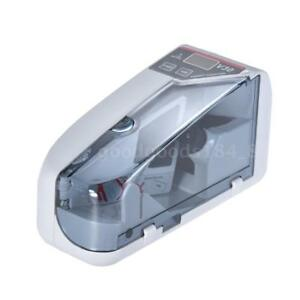 Mini Handy Bill Cash Banknote Counter Money Currency Counting Machine Ac battery