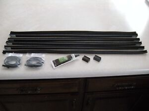 Model A Ford 1930 1931 Coupe And Sport Coupe Door Glass Window Channel Run Kit