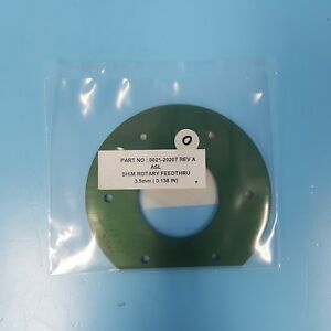 352 0201 Amat Applied 0021 20207 Spacer 3 5mm Magnet Rotary Feedthru Shim New