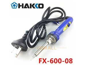 1pc New Hakko Fx 600 08 Adjustable Constant Temperature Electric Soldering Iron