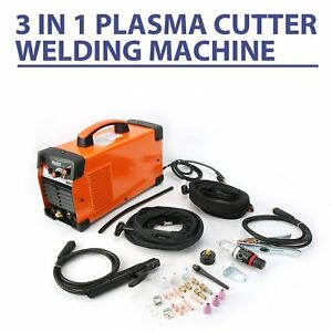 Plasma Cutter For Primeweld Ct520d 50 A 200 A Tig Arc Mma Welder 110 220v New E