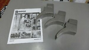 Rayco Tooth Holders Weld On Forestry Mower Parts 2 Bolt For Beaver Planer Tooth