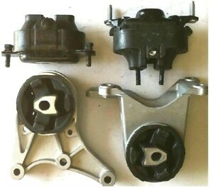 4pc Engine And Transmission Mount For 2008 2012 Chevrolet Malibu 3 6l Fast Ship