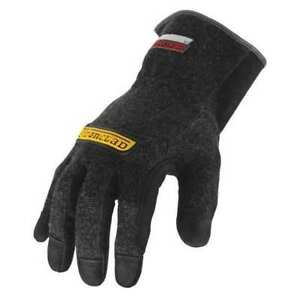 Heat Resist Gloves black L kevlar pr Ironclad Hw4 04 l