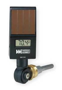 Weiss Dvu35 Digital Solar Powered Thermometer 50 Degrees To 300 Degrees F