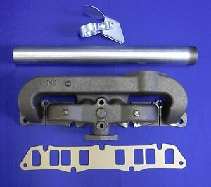 Fits Sa 200 F162 F163 Intake Exhaust Manifold Kit W gasket Tube Weather Cap