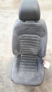2013 2014 Ford Fusion Right Black Leather Heated Seat 6966