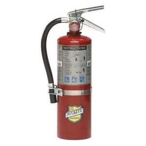 Buckeye 25614 Fire Extinguisher 3a 40b c Dry Chemical 5 Lb Abc