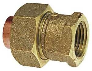 Nibco B25885l Union low Lead Cast Bronze c X Fnpt