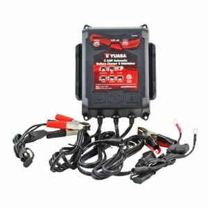 Yuasa 6 12 Volt 2 Amp Automatic Battery Charger Maintainer yua1202262