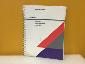 Tektronix 070 8523 04 Tas455 Tas465 Analog Oscilloscopes Instruction Manual