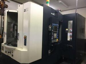 Makino A51 Cnc Horizontal Machining Center With 4th Axis Indexing