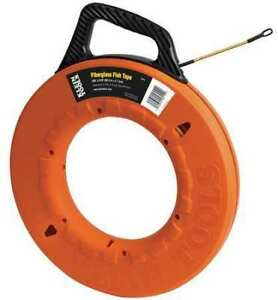 Klein Tools 56014 Fish Tape 3 16 In X 200 Ft fiberglass