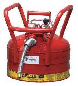Type Ii Dot Safety Can red 16 1 2 In H Justrite 7325120