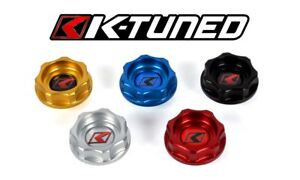K tuned Billet Oil Cap Honda Civic Crx Del Sol Acura Integra Rsx Tsx Black