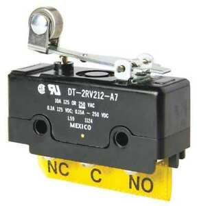 Large Basic Snap Action Switch Straight Lever Dpdt15a 125vac