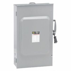 200 Amp 240vac Single Throw Safety Switch 3p Square D D324nrb