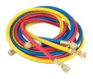 Manifold Hose Set 72 In red yellow blue Imperial 806 mrs
