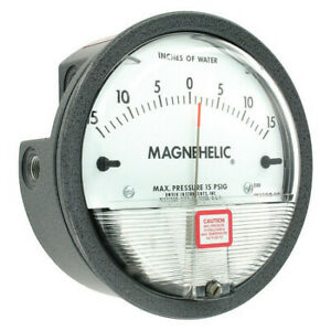 Dwyer Magnehelic Pressure Gauge 15 In To 0 To 15 In H2o Dwyer Instruments 2330