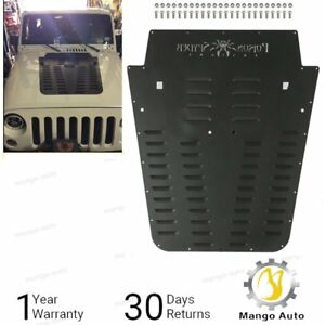Poison Spyder Vented Hood Louver Original Powdercoat For 13 17 Jeep Wrangler Jk