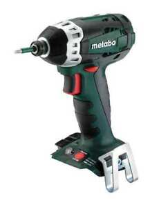 18 volt 1 4 Cordless Impact Driver With Tool Only Metabo Ssd 18 Bare
