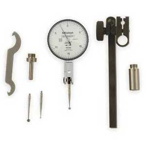 Mitutoyo 513 412 10t Dial Test Indicator Set hori 0to0 030 In