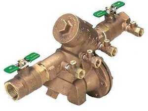 Reduced Pressure Zone Backflow Preventer Zurn Wilkins 112 975xl2