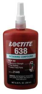 Retaining Compound high Strength 250ml Loctite 638 Loctite 1835925