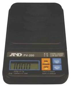 Digital Compact Bench Scale 100g Capacity A d Weighing Pv 100