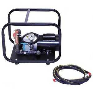 Wheeler rex 35100 Test Pump Electric twin Piston 1hp