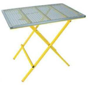 Portable Welding Table 40x24 600 Lb Cap Sumner 783980