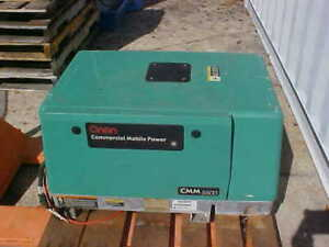 Onan Commercial Mobile Power Rebuilt Generator Cmm5500 5 5hgjae 2131c Made Usa
