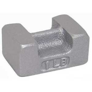 Rice Lake Weighing Systems 12876 Calibration Weight 1 Lb painted