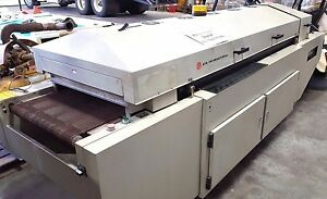 Btu International Reflow Conveyor Oven Convection Circuit Electronic Flow Solder