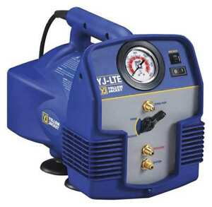 Refrigerant Recovery Machine 1 2 Hp 115v Yellow Jacket 95730