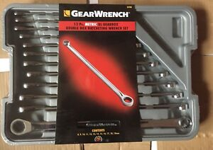 Gearwrench 85988 12 Piece Ratcheting Wrench Metric Xl Gearbox Set