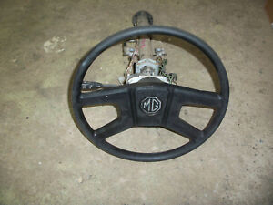 1978 Mgb Steering Column Original Lucas Switches Steering Wheel Lock Assembly
