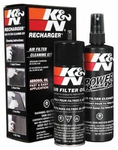 K N 99 5000 Kn Air Filter Cleaning Care Service Kit W Oil Cleaner Recharger Kit